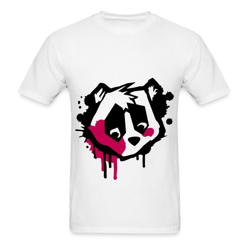 Graffiti Panda Tee - Men's T-Shirt