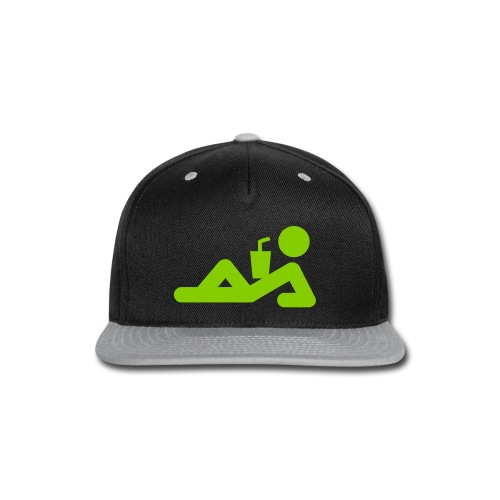 Beach Drinks Premium Cap - Snap-back Baseball Cap