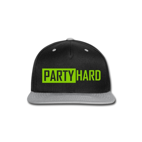 Party Hard Premium Cap - Snap-back Baseball Cap
