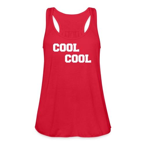 Cool Cool - Women's Flowy Tank Top by Bella