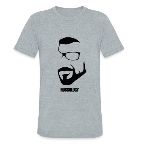 ROCCOLOGY MEN'S AMERICAN APPAREL TRI-BLEND CREW-NECK TEE - Unisex Tri-Blend T-Shirt