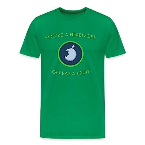Herbivore shirt (Men's) - Men's Premium T-Shirt