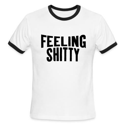 Lennon Mood shirt (Men's) - Men's Ringer T-Shirt