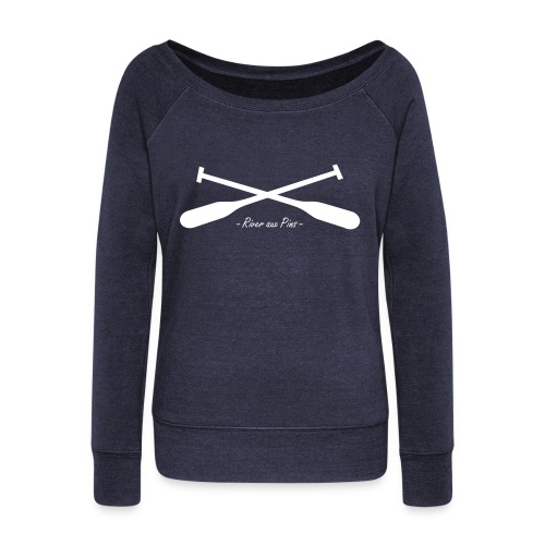 OARS X SHIRT - Women's Wideneck Sweatshirt