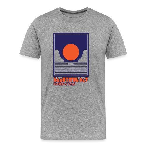Beautiful Day Records & Tapes - Men - Men's Premium T-Shirt