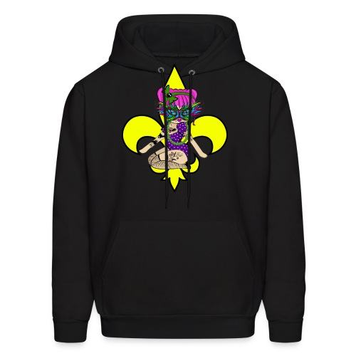 Louisiana Men's  Hooded Sweatshirt - Men's Hoodie