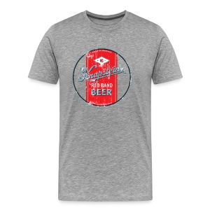 Knapstein Brewing Company - New London, Wisconsin - Aged - Men - Men's Premium T-Shirt