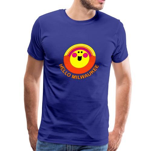 Hello Milwaukee! - Men - Men's Premium T-Shirt