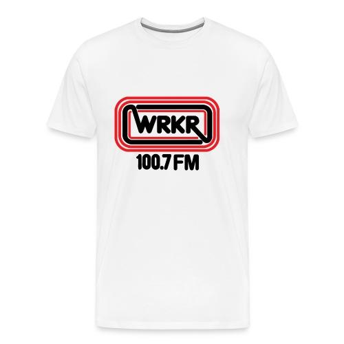 WRKR 100.7 FM Racine, WI - Men - Men's Premium T-Shirt
