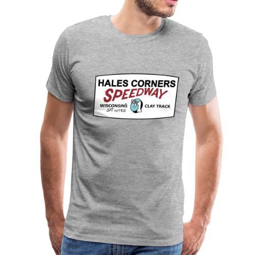 Hales Corners Speedway - Men - Men's Premium T-Shirt