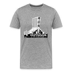 41 Twin Drive-in - Aged - Men - Men's Premium T-Shirt