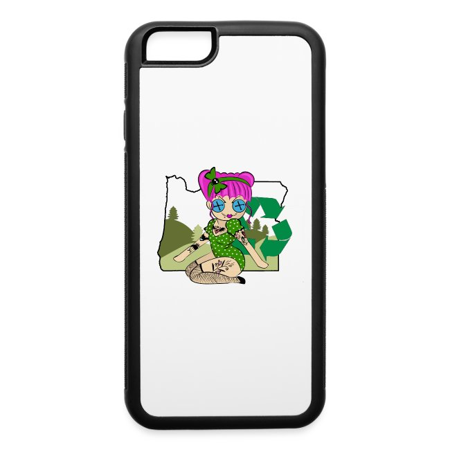 Oregon iPhone 6 Rubber Case