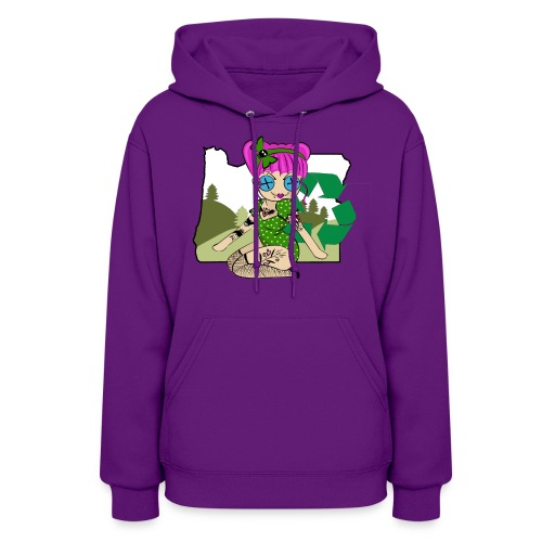 Oregon Women's Hooded Sweatshirt - Women's Hoodie