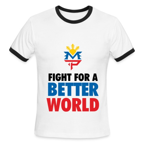 Fight For A Better World - Men's Ringer T-Shirt