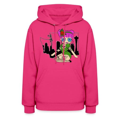 Washington Women's Hooded Sweatshirt - Women's Hoodie