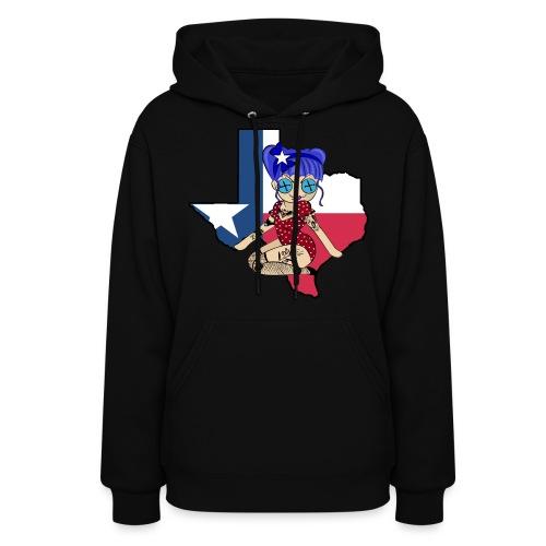 Texas Women's Hooded Sweatshirt - Women's Hoodie
