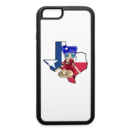 Texas iPhone 6 Rubber Case - iPhone 6/6s Rubber Case