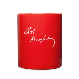 Girl Almighty White Text Mug - Full Color Mug