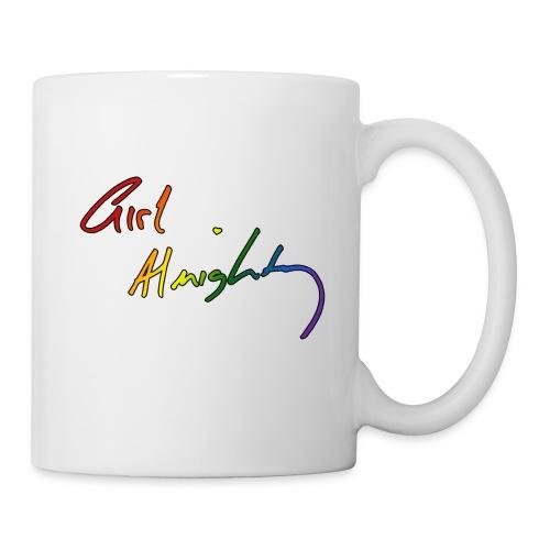 Girl Almighty Rainbow Mug - Coffee/Tea Mug