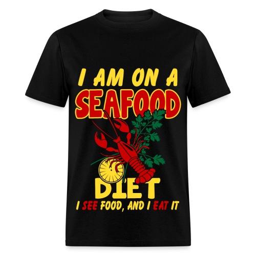 SeaFood Diet Shirt - Men's T-Shirt