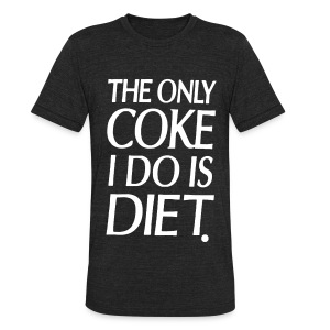 Diet Coke - Unisex Tri-Blend T-Shirt by American Apparel