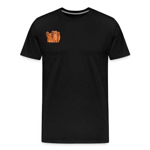 Bacon Pocket - Men's Premium T-Shirt
