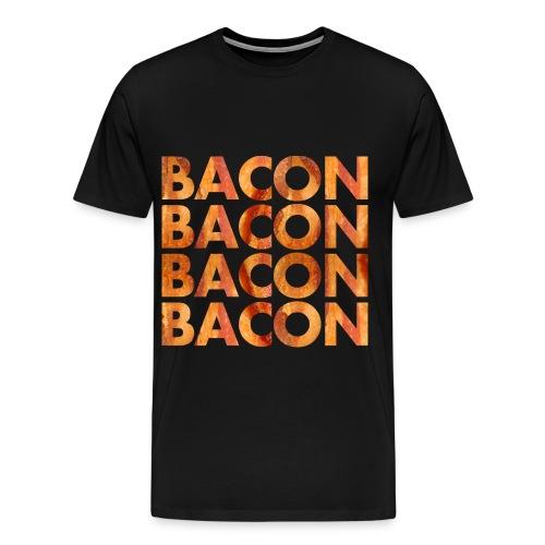 BACON BACON BACON BACON - Men's Premium T-Shirt