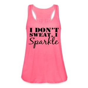 I Sparkle - Women's Flowy Tank Top by Bella