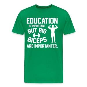 EDUCATION - Men's Premium T-Shirt