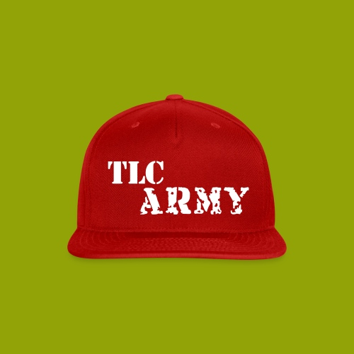 TLC ARMY snap back - Snap-back Baseball Cap