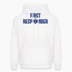 first responder Hoodies