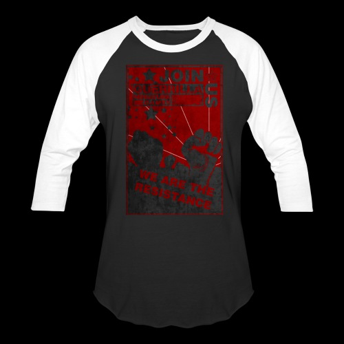Resistance Baseball Tee  - Baseball T-Shirt