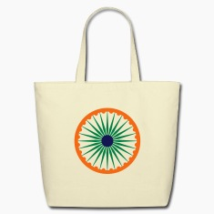 chakra ashoka flag Bags & backpacks