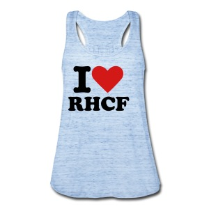 i Heart RHCF Tank - Women's Flowy Tank Top by Bella