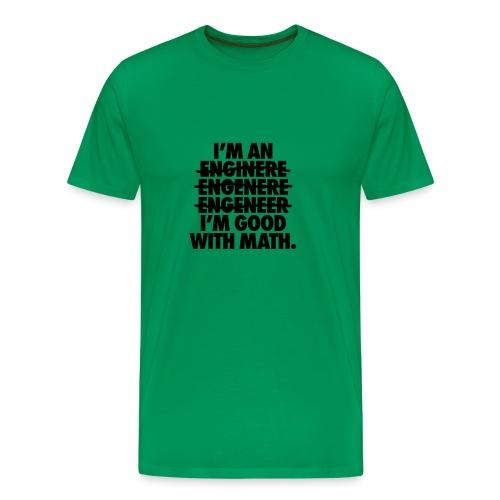 English Engineer - Men's Premium T-Shirt