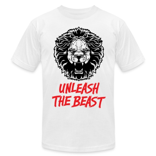 Unleash The Beast - Men's Fine Jersey T-Shirt