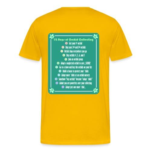 12 Steps / Orchid Addict - Men's Premium T-Shirt