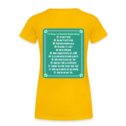 12 Steps / Orchid Addict - Women's Premium T-Shirt