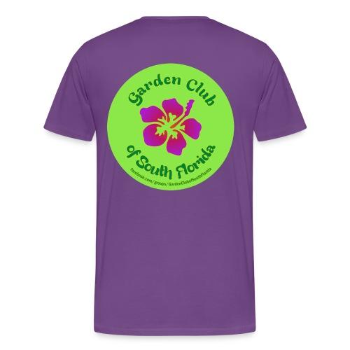 Garden Club of South Florida - Men's Premium T-Shirt