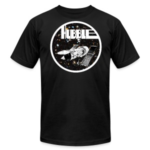 Hubble Deep Space - Men's T-Shirt by American Apparel