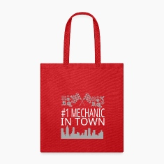 Mechanic in Town Bags & backpacks