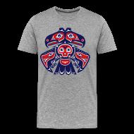 T-Shirts ~ Men's Premium T-Shirt ~ Native American Bird Totem (Men's)