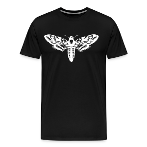 Death's Head Moth (Men's) - Men's Premium T-Shirt