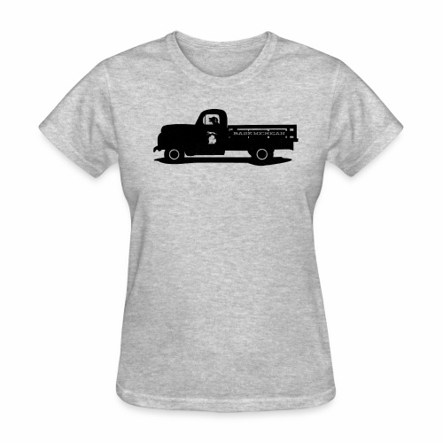 Bark Michigan truck shirt - womens - Women's T-Shirt