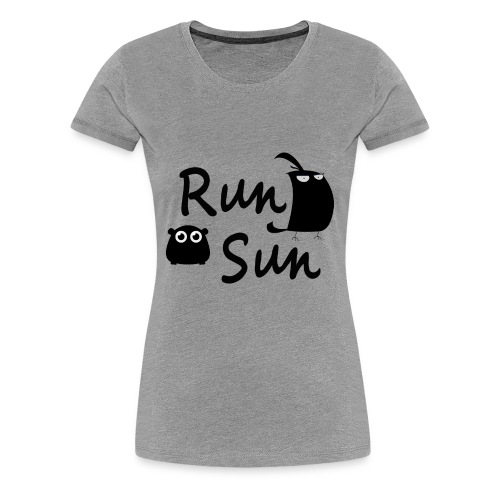 Run Sun Shirt - Women's Premium T-Shirt