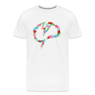 T-Shirts ~ Men's Premium T-Shirt ~ Men's Mindcrack Floral T-Shirt
