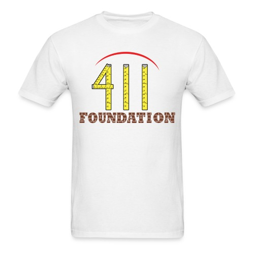 The 411 Foundation Original - Men's T-Shirt