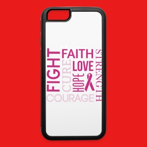 LIMMTED EDITION cancer courage case - iPhone 6/6s Rubber Case