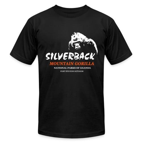 Silverback Gorilla T-Shirt - Men's Fine Jersey T-Shirt