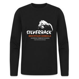 Silverback Gorilla Longsleeve - Men's Long Sleeve T-Shirt by Next Level